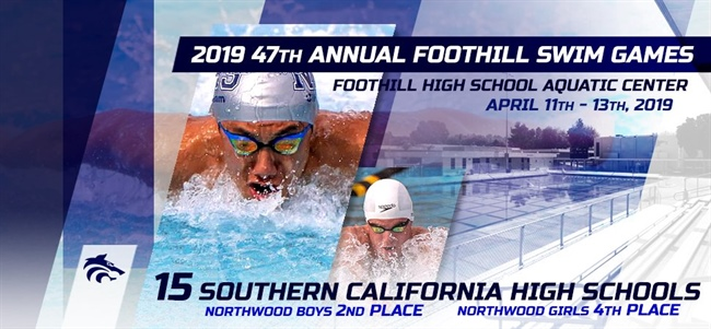 72b3f8aa75da1 TARGETS ON BACK: NORTHWOOD BOYS TAKES 2ND; GIRLS 4TH AT 47TH ANNUAL  FOOTHILL SWIM GAMES