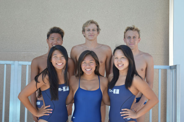 Northwood high school swimming captains Tong high school swimming pool